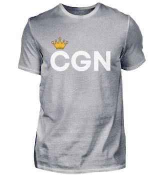 CGN mit Krone Herren Shirt