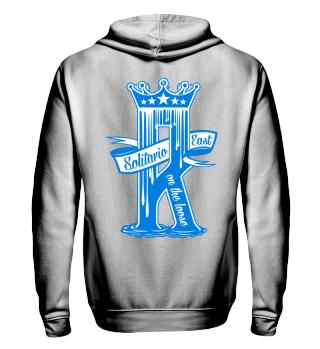 Herren Zip Hoodie Sweatshirt Dripping R Ramirez