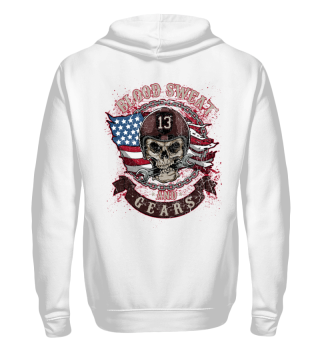 Herren Zip Hoodie Sweatshirt Blood Sweat Ramirez Hip Hop