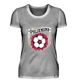Spielermama Fußball Mama Herz