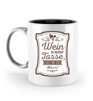 Wein · Wein in meiner Tasse