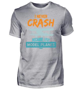 Model airplane remote control glider