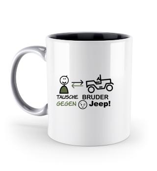 JCD Tasse JeepKids 3 mehrfarbig