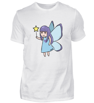 Fee Blue Star fairy tale girl gift