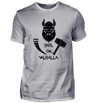 SKOL or Valhalla Wikinger logo