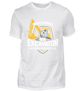 Excavator driver - Search woman