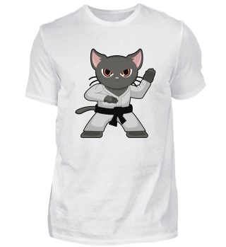 Cat Karate kitty Meow purring Gift claws
