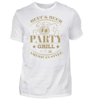 ☛ Partygrill · American Style #4G