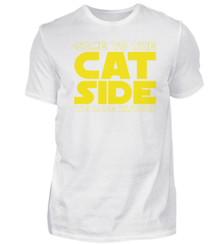 Gift Cat Lover: To the cat side