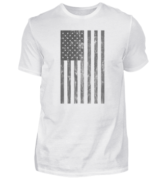 US Flag Vintage Retro Grunge