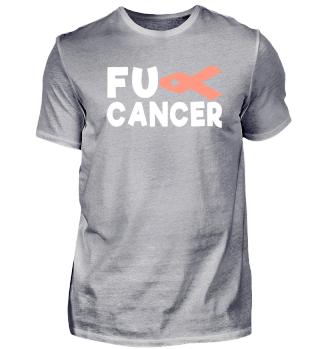 Fck Cancer Shirt endometrial cancer