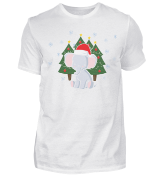 CHRISTMAS ELEPHANT T-SHIRT