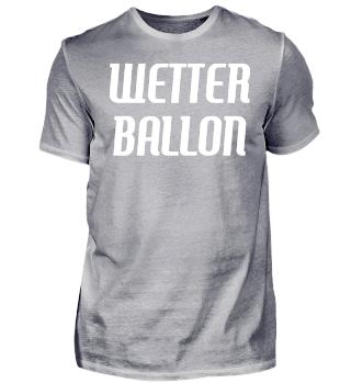 Wetterballon Geschenkidee