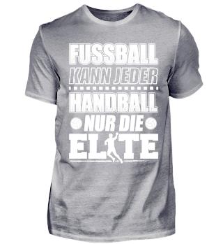 Handball Handballer Shirt Fussball Jeder