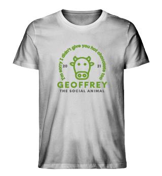 GEOFFREY - The Social Animal - White