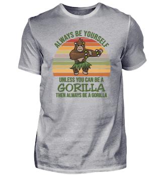 Always Be Yourself Gorilla dance