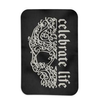 Artsy Vintage Skull - Celebrate Life 2