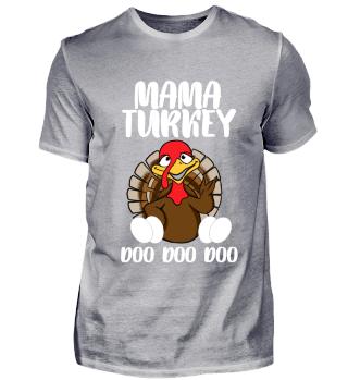 Mutter Mama Truthahn Erntedank Geschenk
