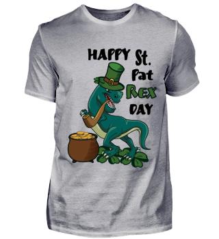 Funny St. Patricks Day Gift- St. Pat Rex