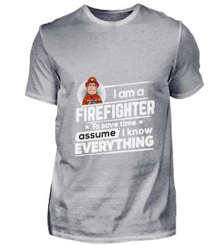 D001-0324A Proud Firefighter Feuerwehr -