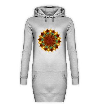 Hoodie-Dresses, Mandala Design