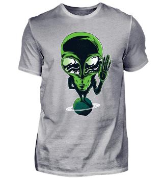 Alien On Planet