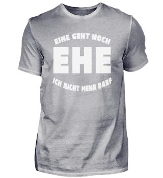 Tolles T-Shirt zur Party für Bräutigam T