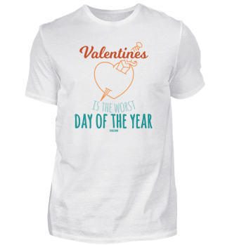 Valentine's worst day of the year