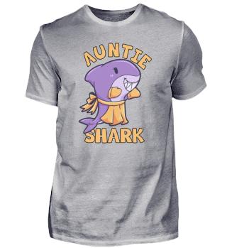 Auntie Shark Frau Schwester Tante Hai