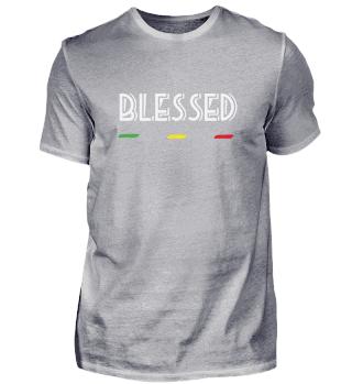 UK - BLESSED - Reggae, Rasta - Gift