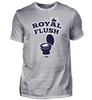 Poker Toilette Klo Flush lustig Geschenk