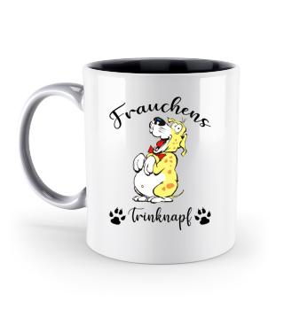 Frauchens Trinknapf Hundeliebe
