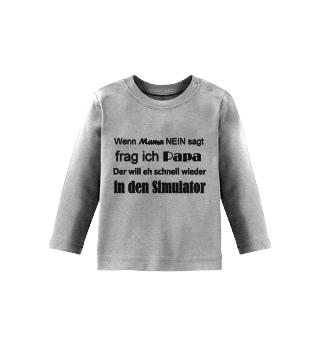 Simracer Baby Langarmshirt