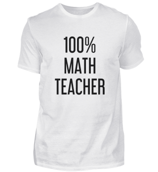 100% Math Teacher