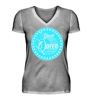 Damen Kurzarm T-Shirt Street Queen W Ramirez