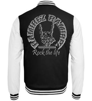 Herren College Jacke Rock The Life Ramirez