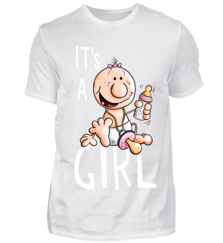 It's A Girl I Baby Mädchen I Schwanger