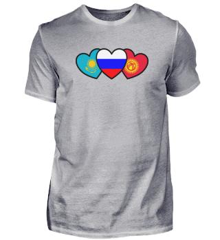 Russia Kazakhstan Kyrgyzstan Funny Gift