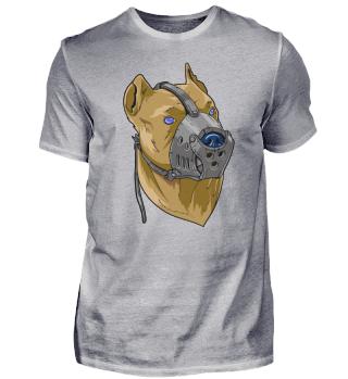 Kampfhund Maulkorb staffordshire terrier