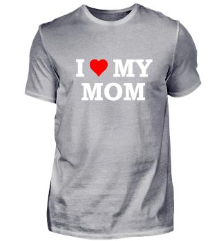 Ich liebe meine Mutter Muttertag