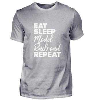 Railway Trains - Eat sleep