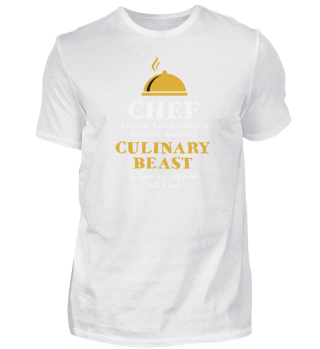 Culinary Beast Chef Kitchen Cook Grill