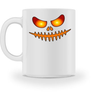 Halloween Spooky Lantern Pumpkin Face 1