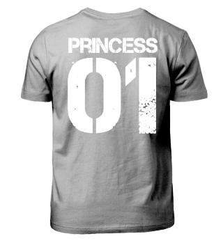 Princess 01 Eltern Kind Partnerlook