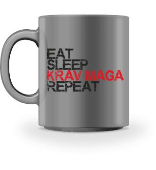 Eat, Sleep, Krav Maga, Repeat