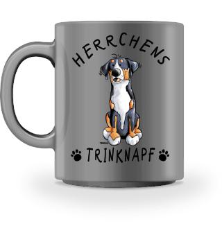 Herrchens Trinknapf Schweizer Sennenhund