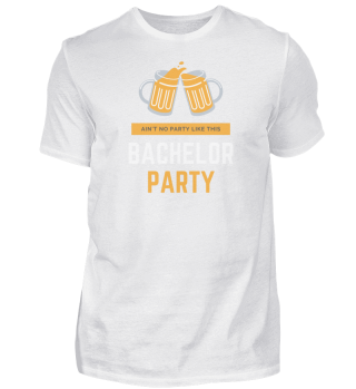 Bachelor Party T- Shirts zum feiern