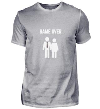 Game Over Junggesellenabschied Geschenk