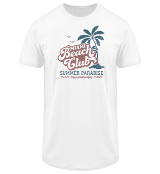 Miami Beach Club - Long Tee
