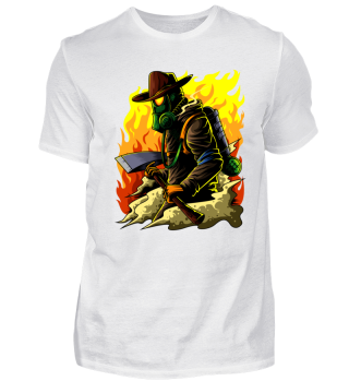 Feuerwehrmann Illustration - Firefighter